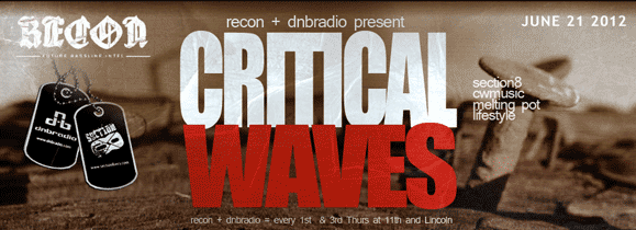 LIVE RECORDING: Critical Waves Live Venue Broadcast